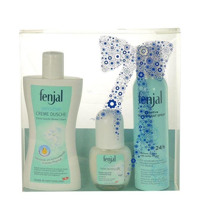Fenjal Sensitive Shower Cream Kit 1505 Cosmetic 400ml