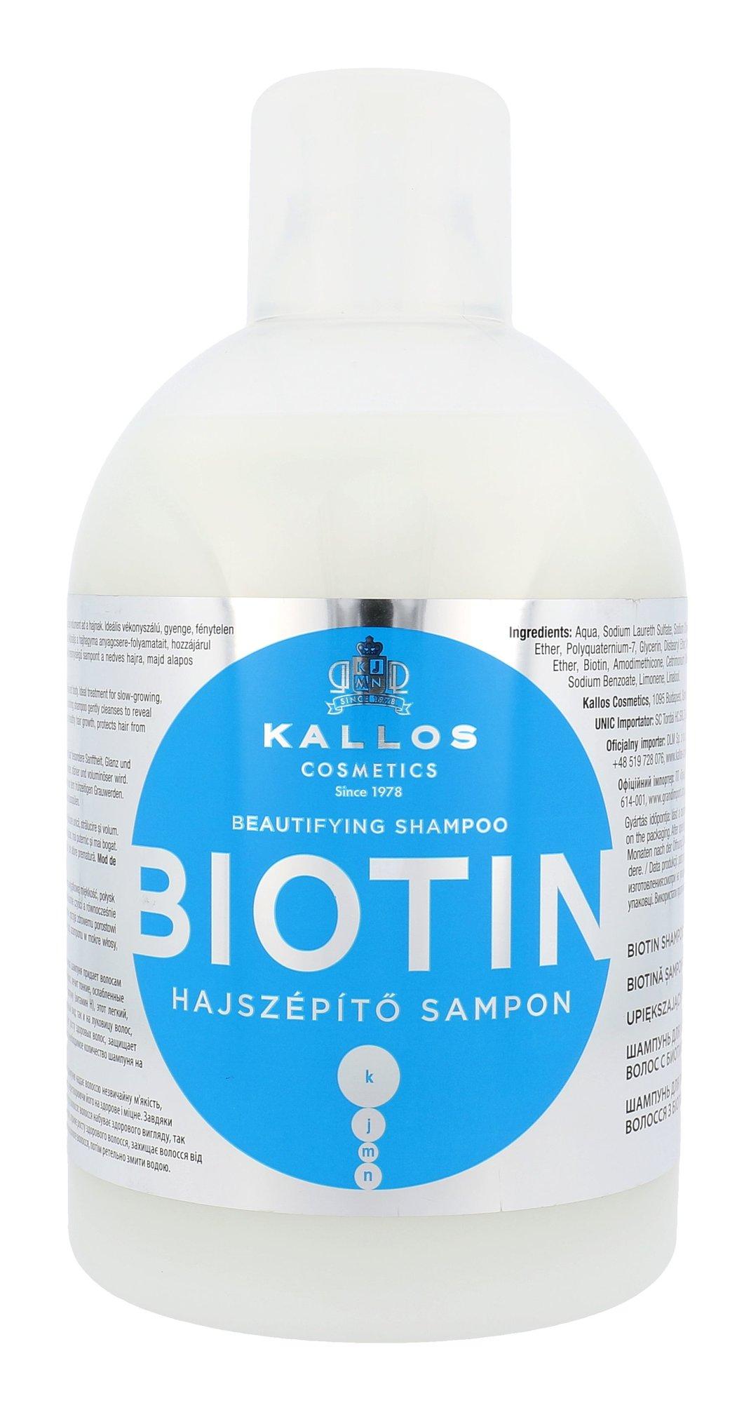 Kallos Biotin Shampoo Cosmetic 1000ml
