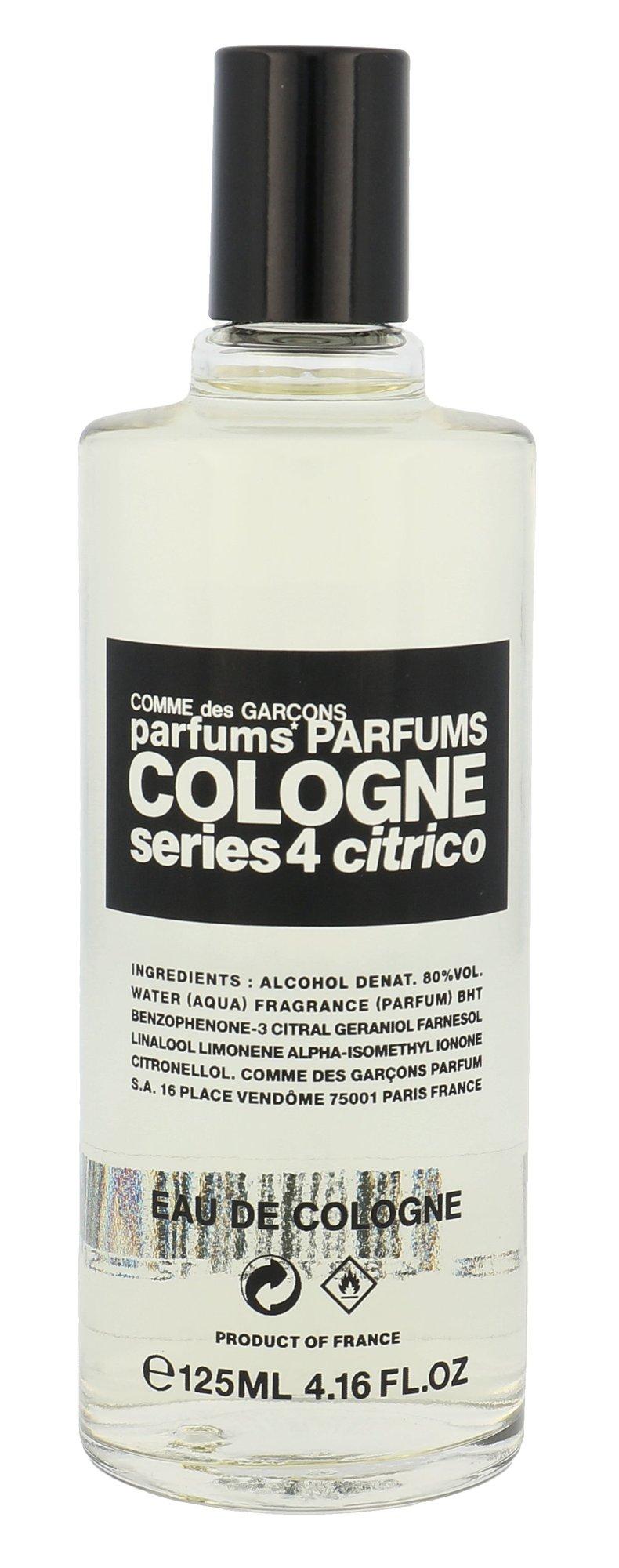 COMME des GARCONS Series 4 Cologne Cologne 125ml  Citrico