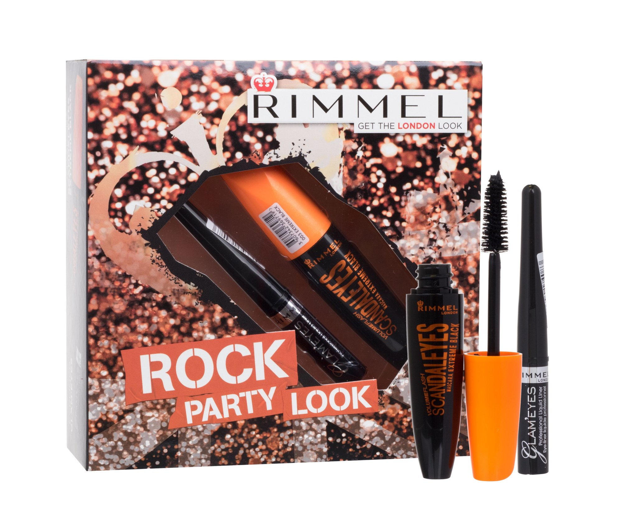 Rimmel London Scandal Eyes Cosmetic 12ml 003 Extreme Black