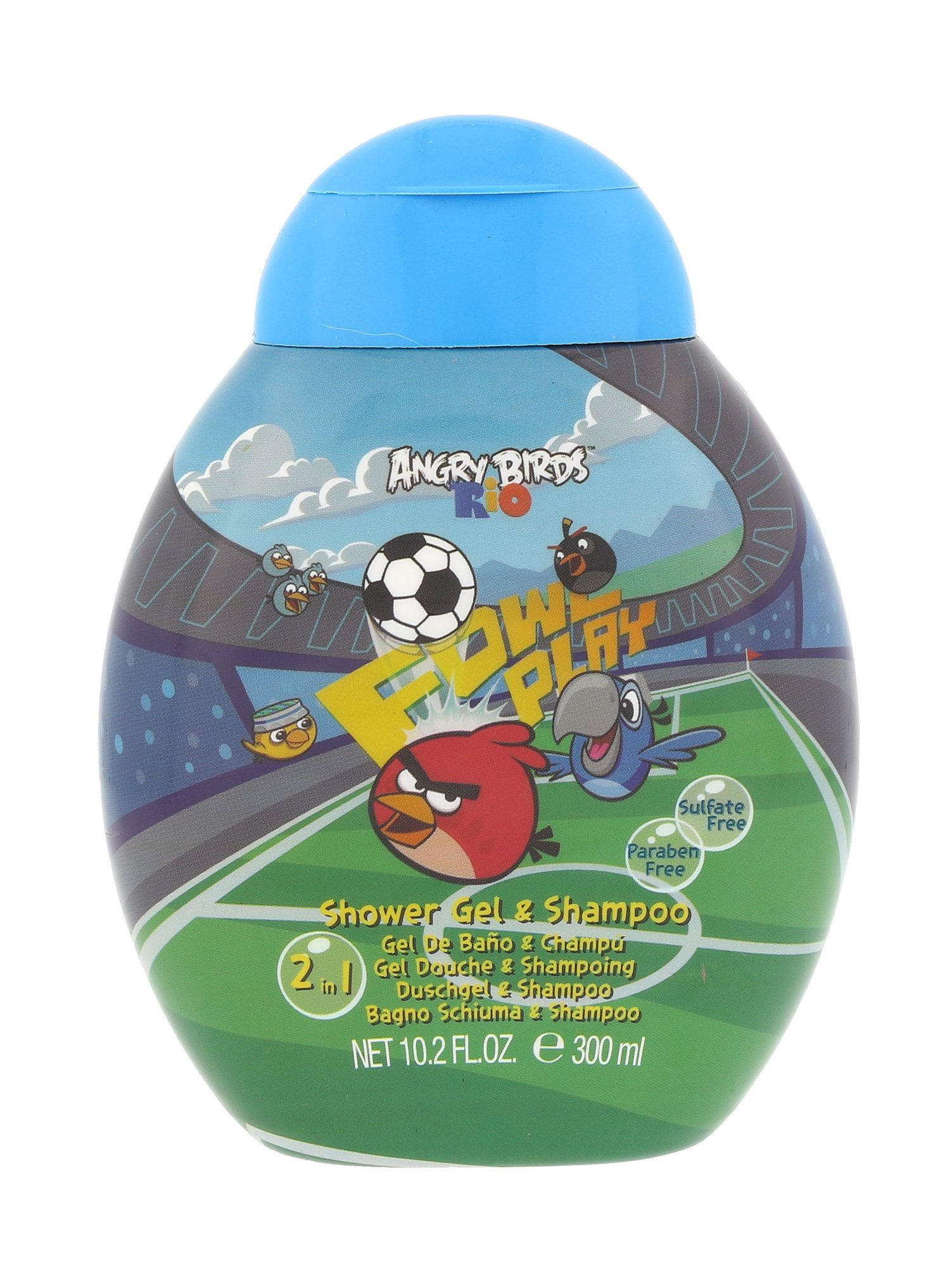 Angry Birds Angry Birds Rio Shower gel 300ml