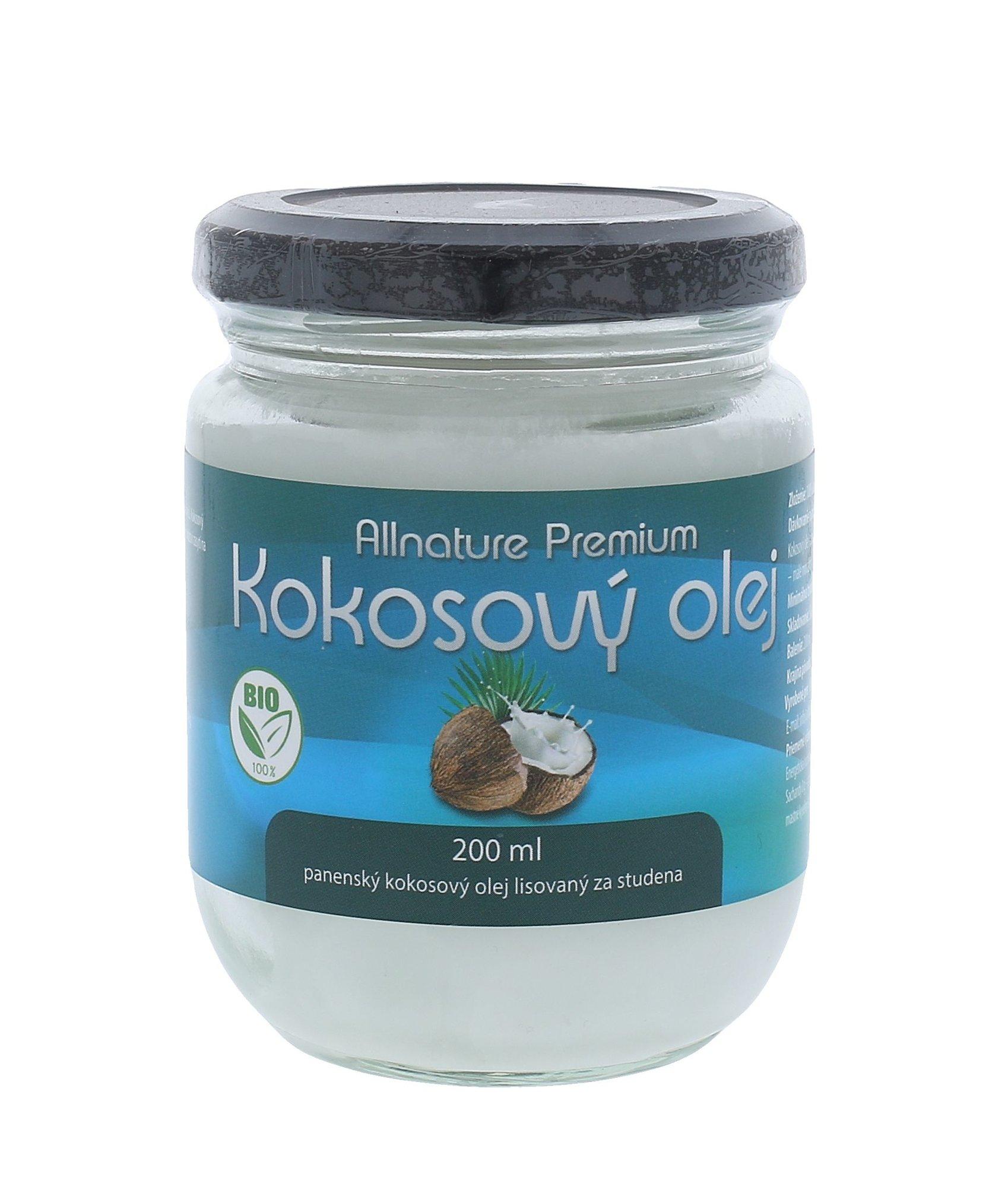 Allnature Premium Bio Coconut Oil Cosmetic 200ml