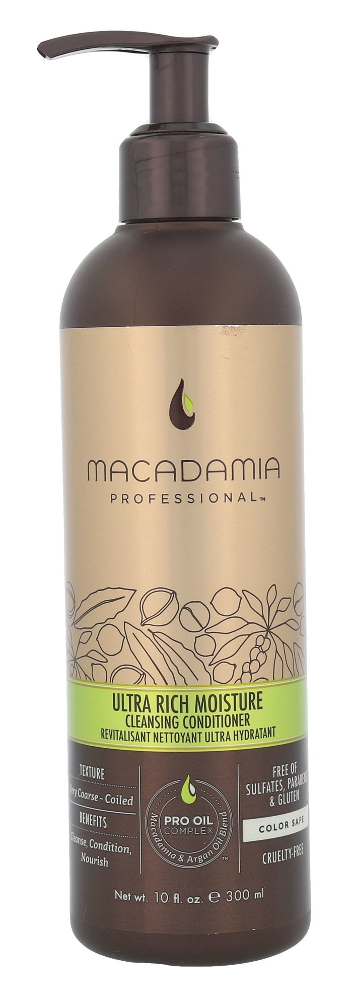 Macadamia Ultra Rich Moisture Cleansing Conditioner Cosmetic 300ml