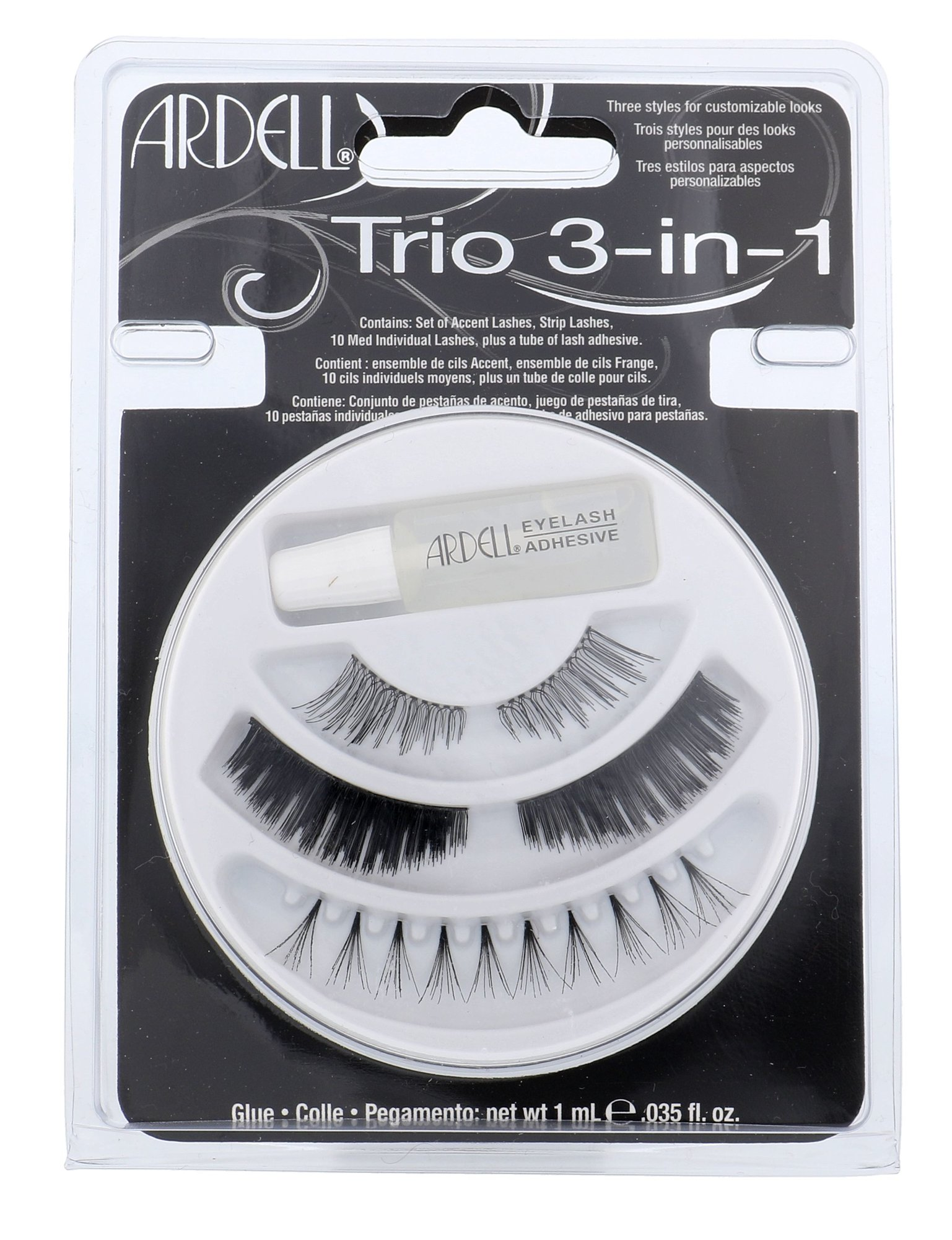 Ardell Trio 3-in-1 Cosmetic 1ml Black