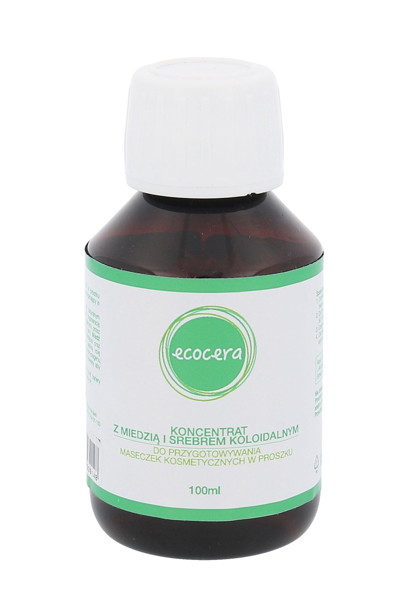 Ecocera Concentrate With Colloidal Cooper And Silver Cosmetic 100ml