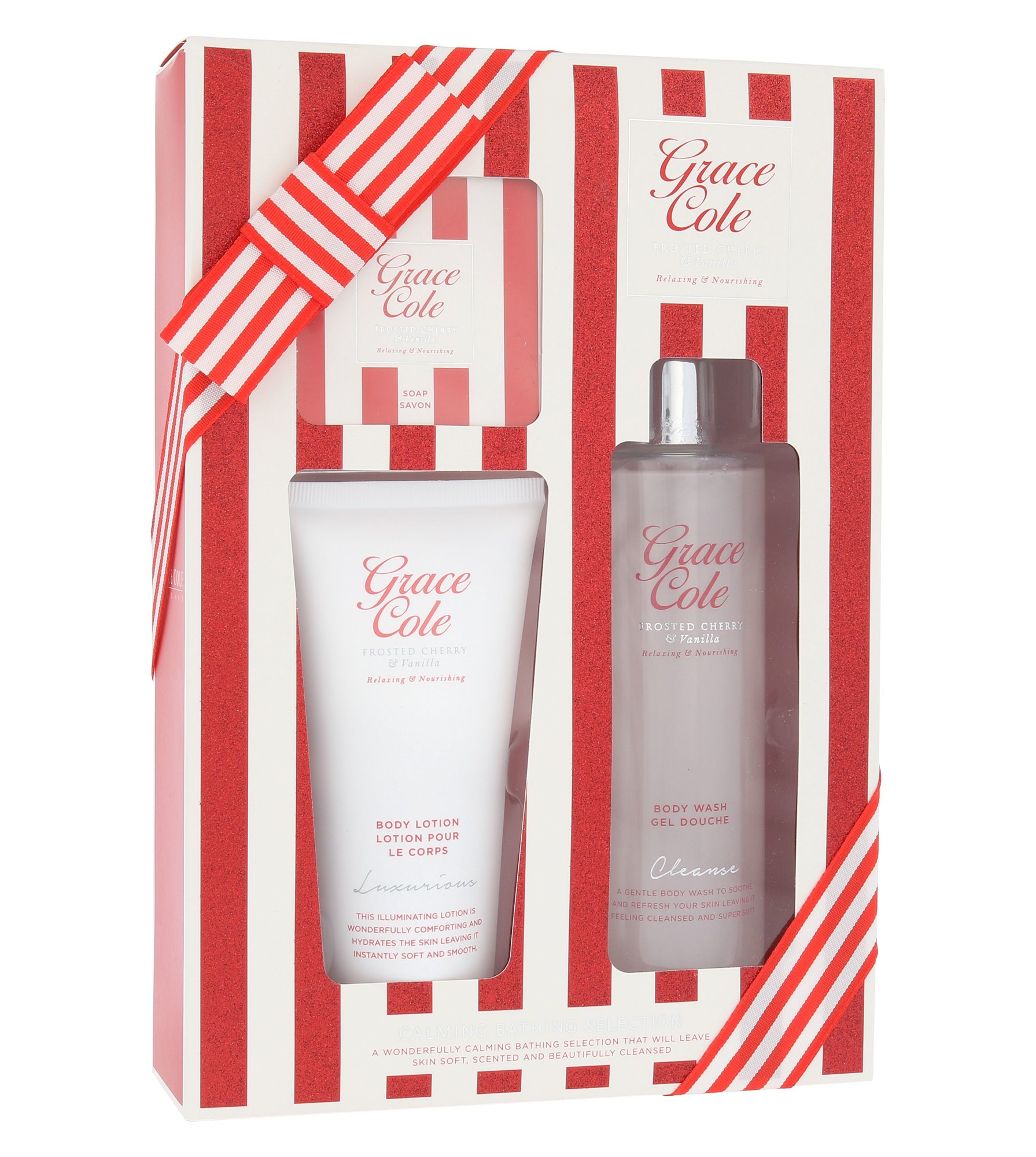 Grace Cole Frosted Cherry & Vanilla Calming Bathing Selection Cosmetic 250ml