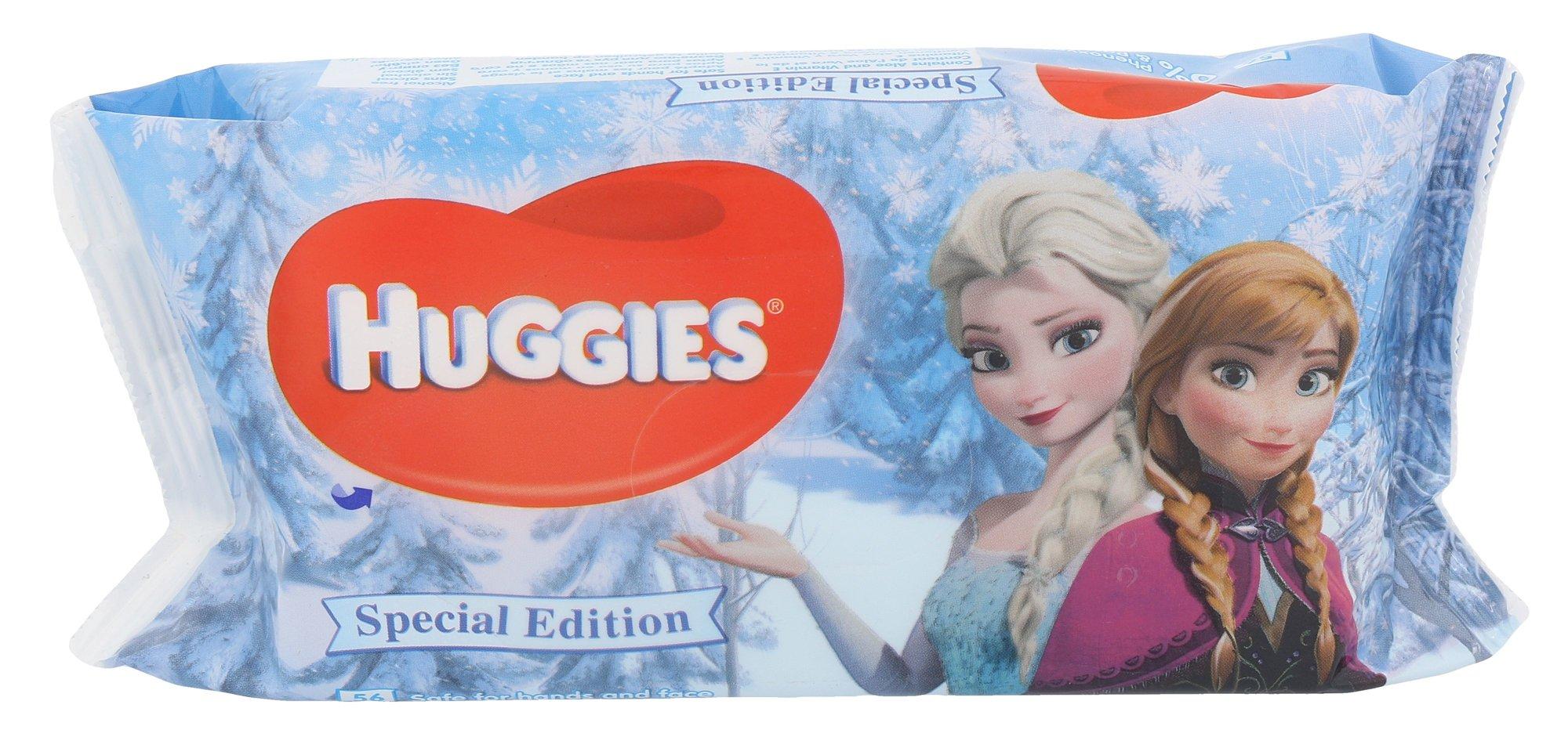 Huggies Baby Wipes Frozen Anna & Elsa Cosmetic 56ks