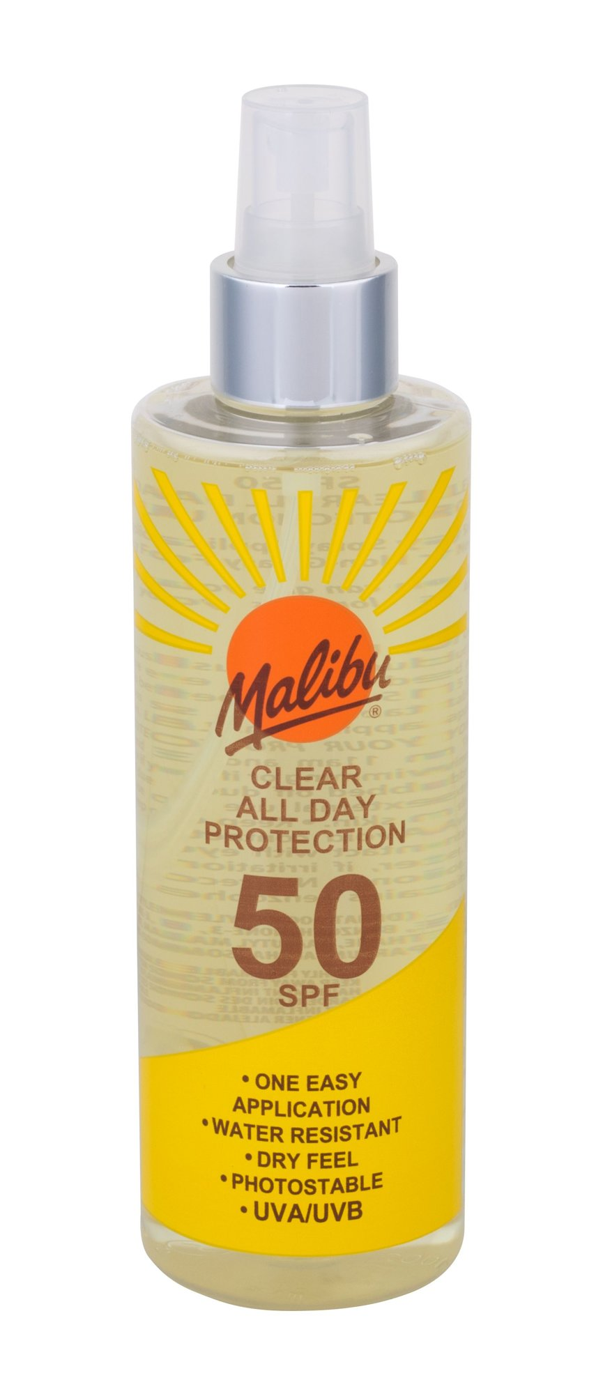 Malibu Clear All Day Protection Cosmetic 250ml