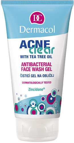 Dermacol AcneClear Antibacterial Face Wash Gel Cosmetic 150ml