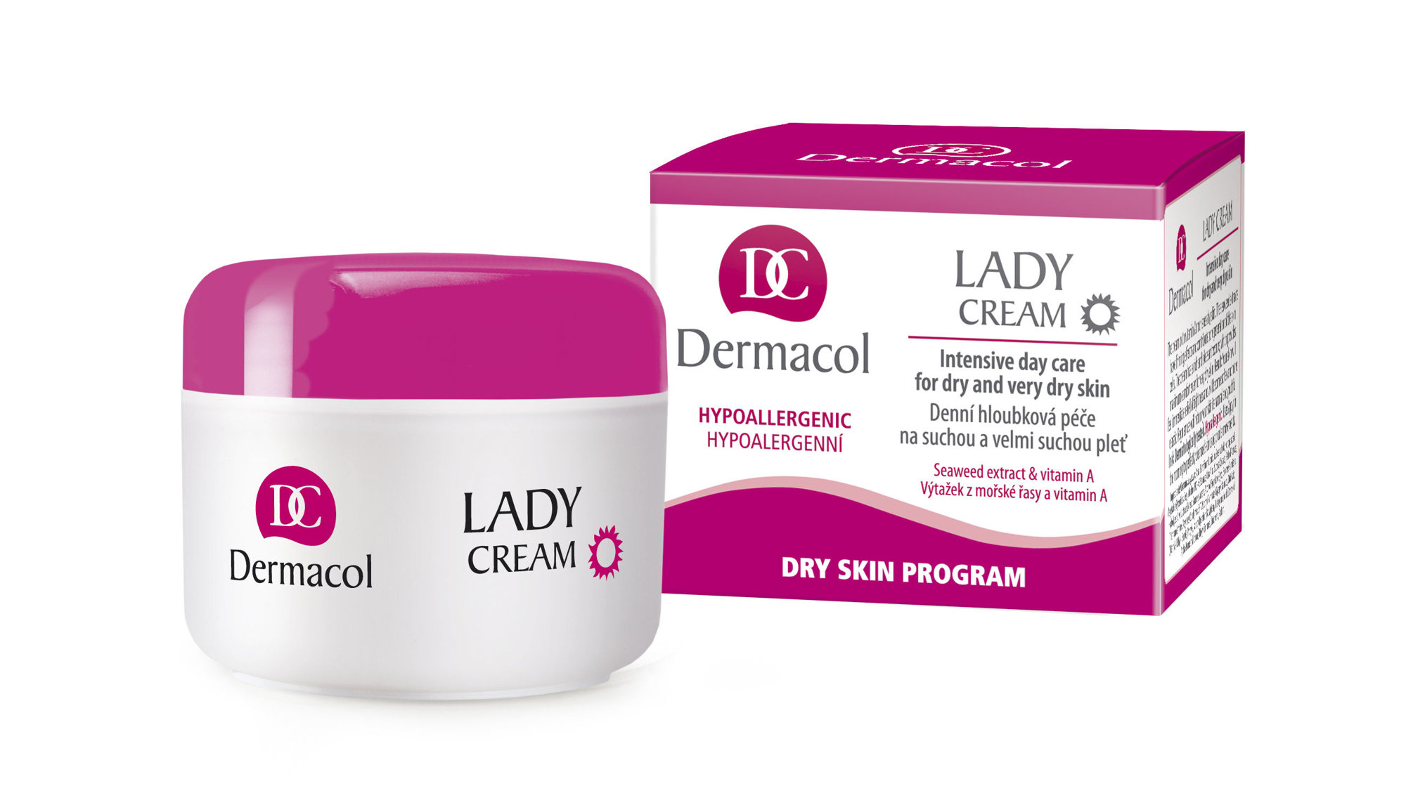 Dermacol Lady Cream Cosmetic 50ml