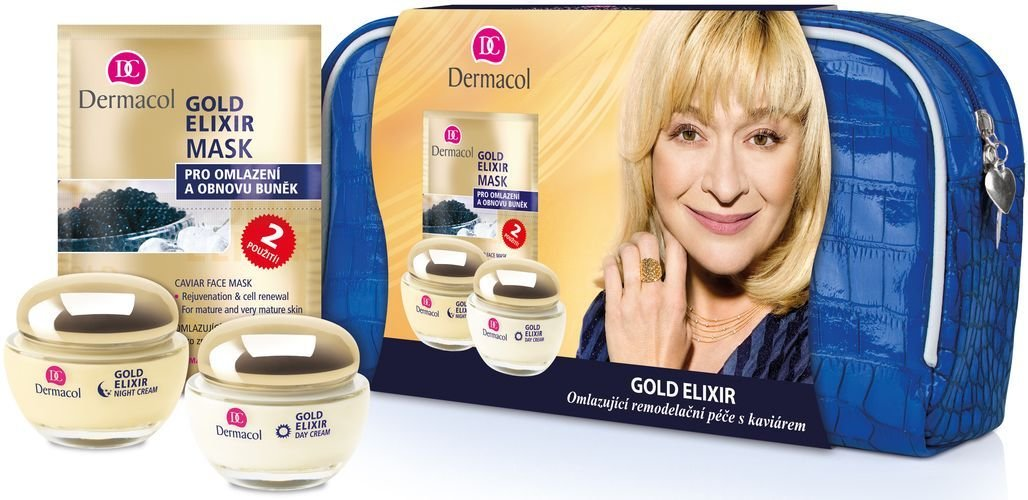Dermacol Gold Elixir Cosmetic 50ml