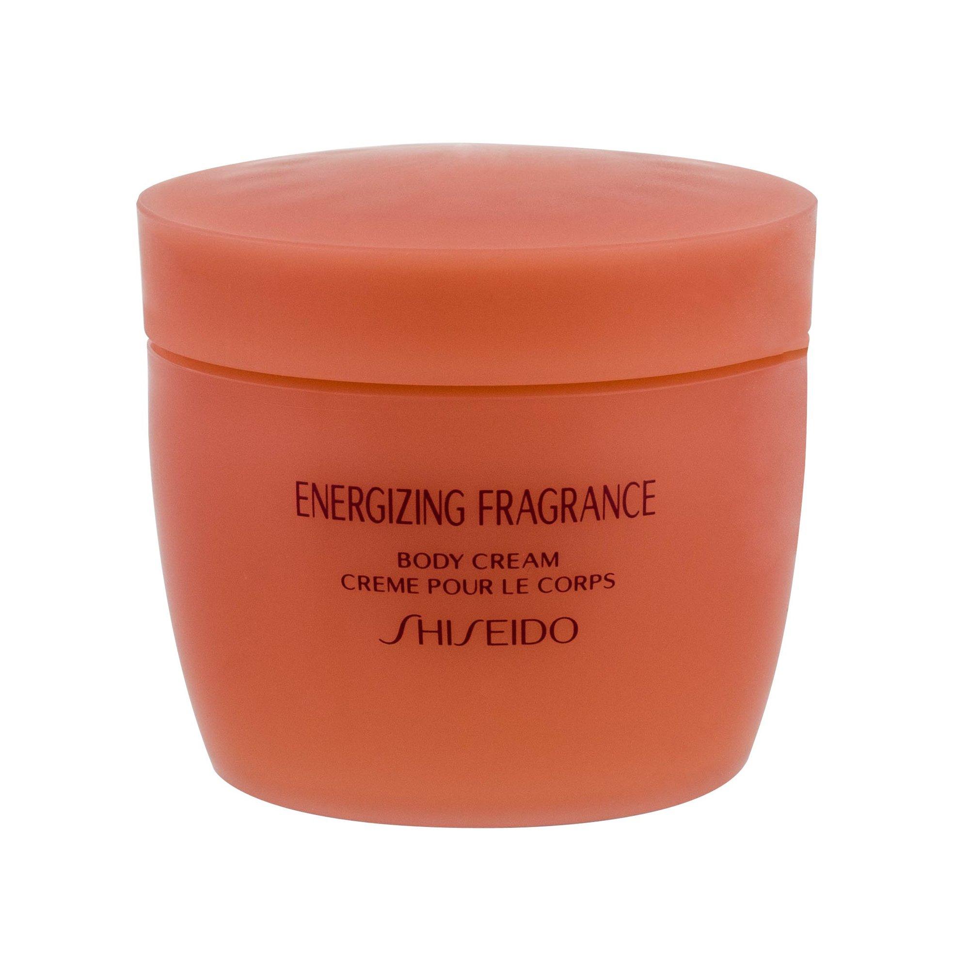 Kūno kremas Shiseido Energizing Fragnance
