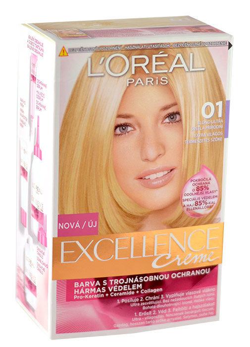 L´Oréal Paris Excellence Creme Cosmetic 1ml 01 Lightest Natural Blonde