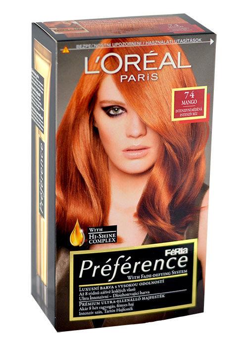 L´Oréal Paris Préférence Cosmetic 1ml 74 Mango
