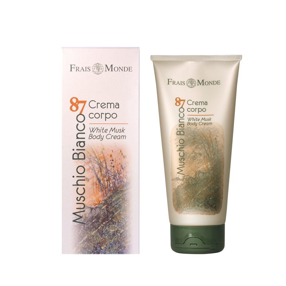 Frais Monde Muschio Bianco 87 White Musk Body Cream Cosmetic 200ml