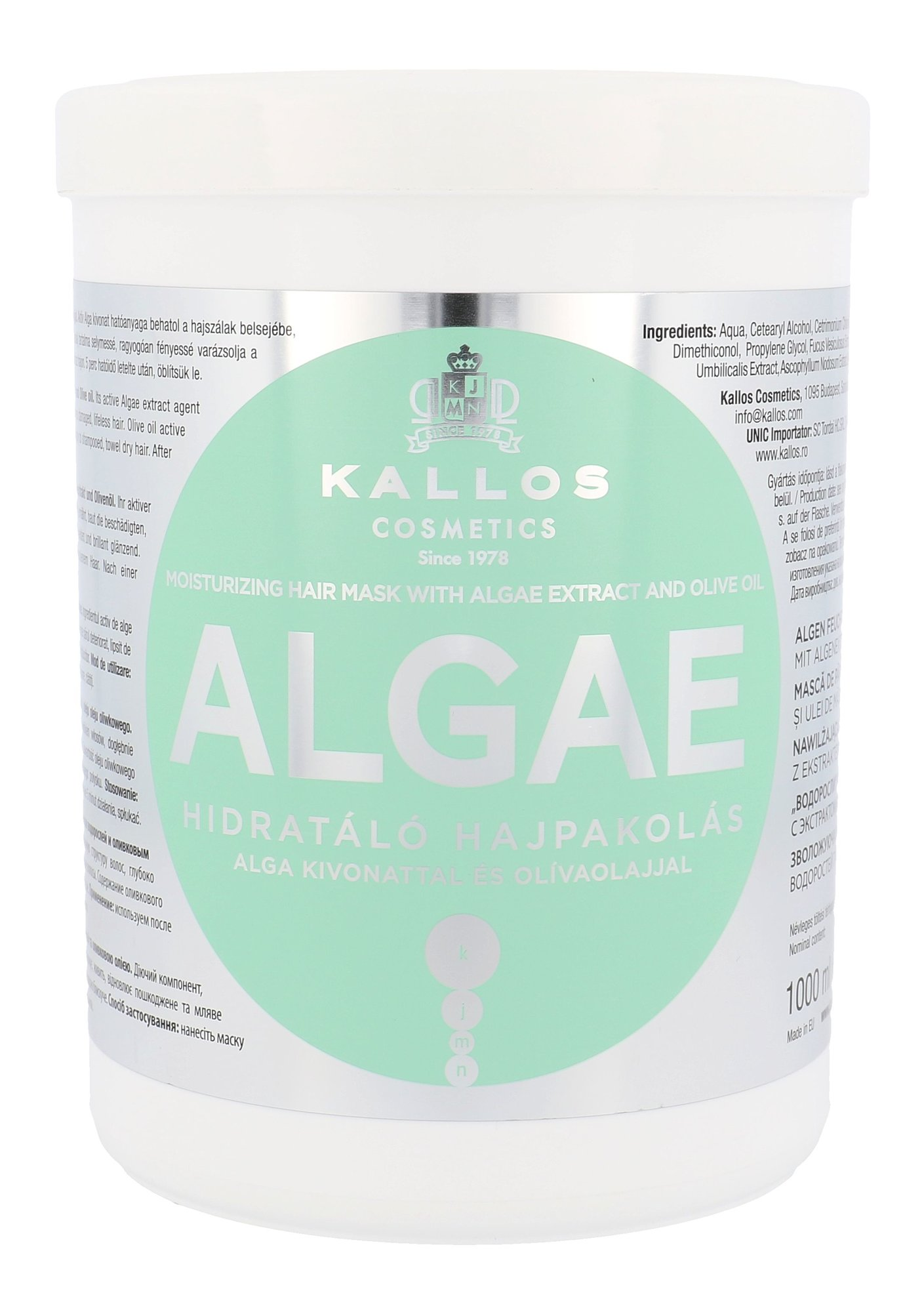 Kallos Cosmetics Algae Cosmetic 1000ml