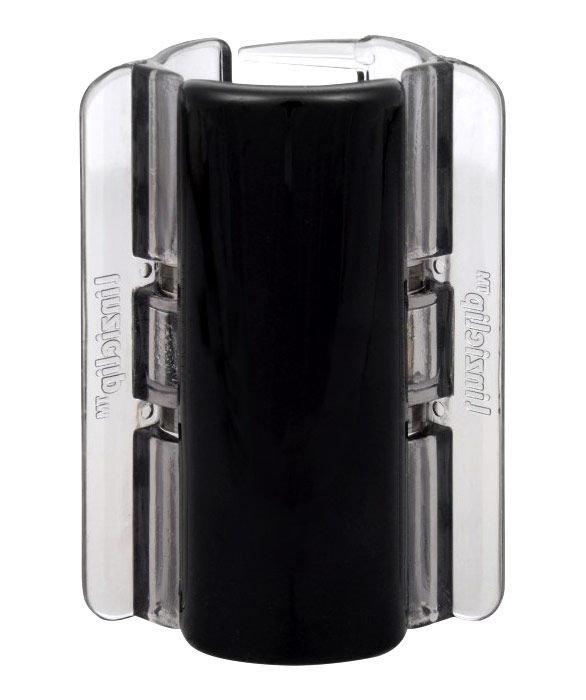 Linziclip Maxi Cosmetic 1ml Black Translucent
