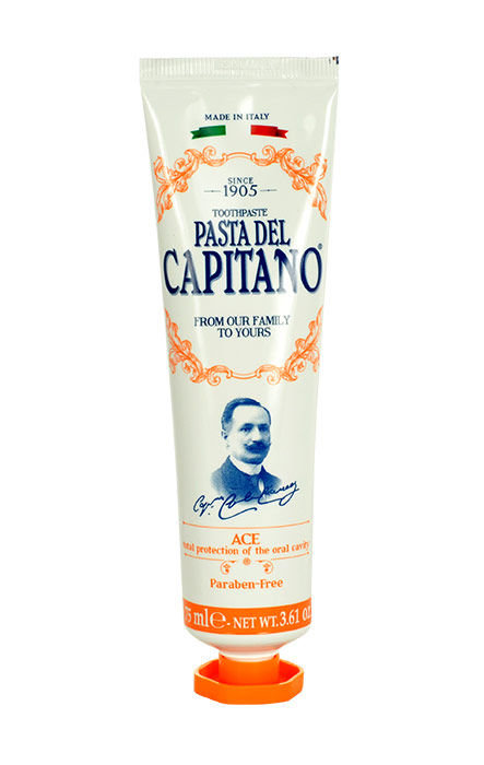Pasta Del Capitano Ace Toothpaste Cosmetic 25ml