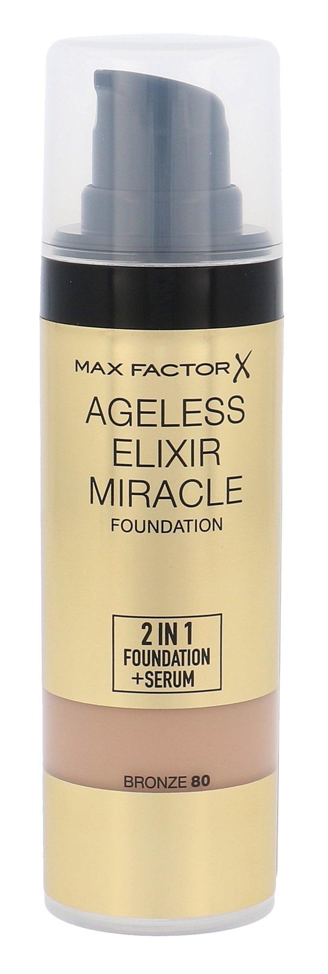 Max Factor Ageless Elixir Cosmetic 30ml 80 Bronze