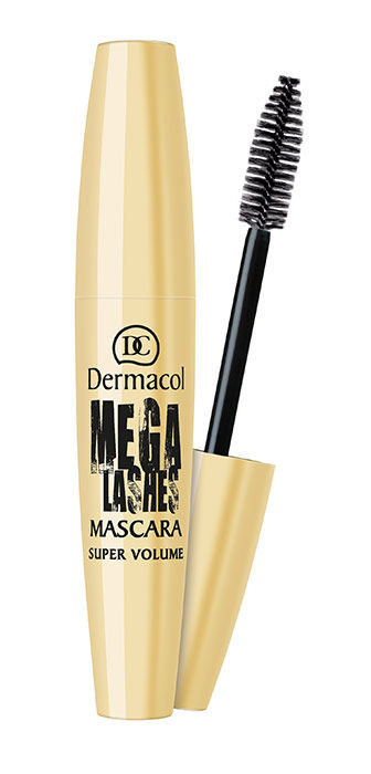 Dermacol Mega Lashes Mascara Cosmetic 12ml Brown