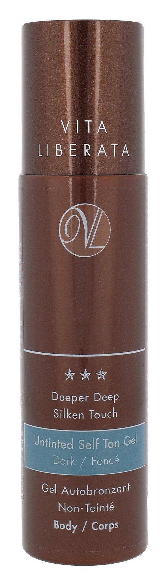Vita Liberata Untinted Self Tan Gel Cosmetic 200ml Dark