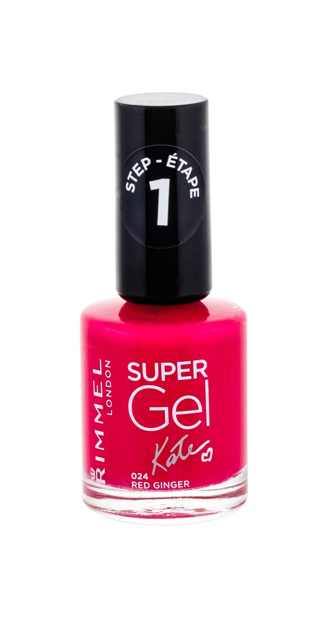 Rimmel London Super Gel By Kate Cosmetic 12ml 024 Red Ginger