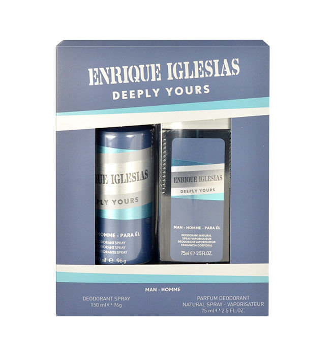 Enrique Iglesias Deeply Yours Man Deodorant 150ml