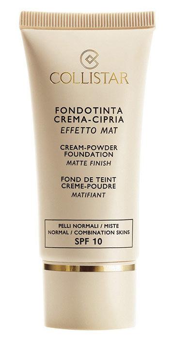 Collistar Cream-Powder Matte Finish Foundation Cosmetic 30ml 1 Cameo