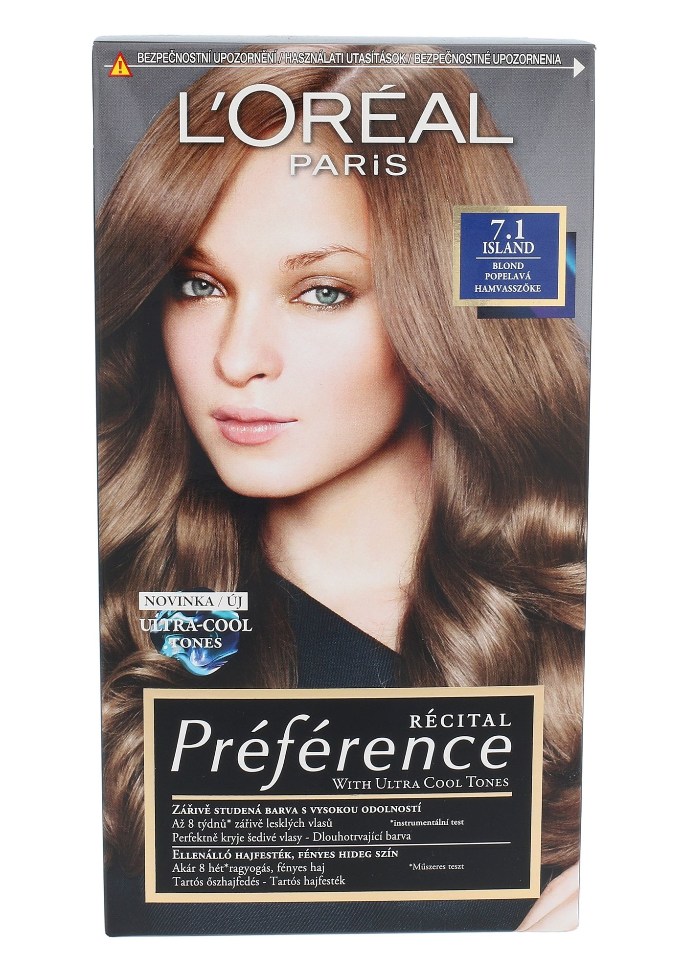L´Oréal Paris Préférence Cosmetic 1ml 7.1 Island