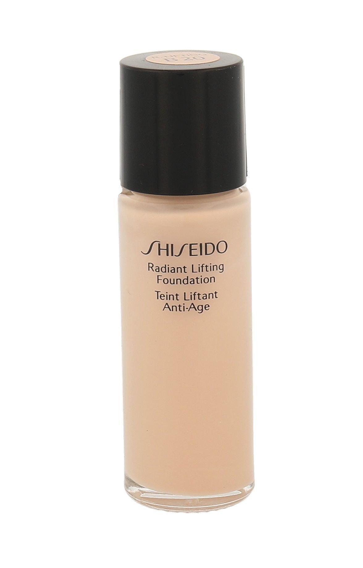 Shiseido Radiant Lifting Foundation Cosmetic 15ml B20 Natural Light Beige