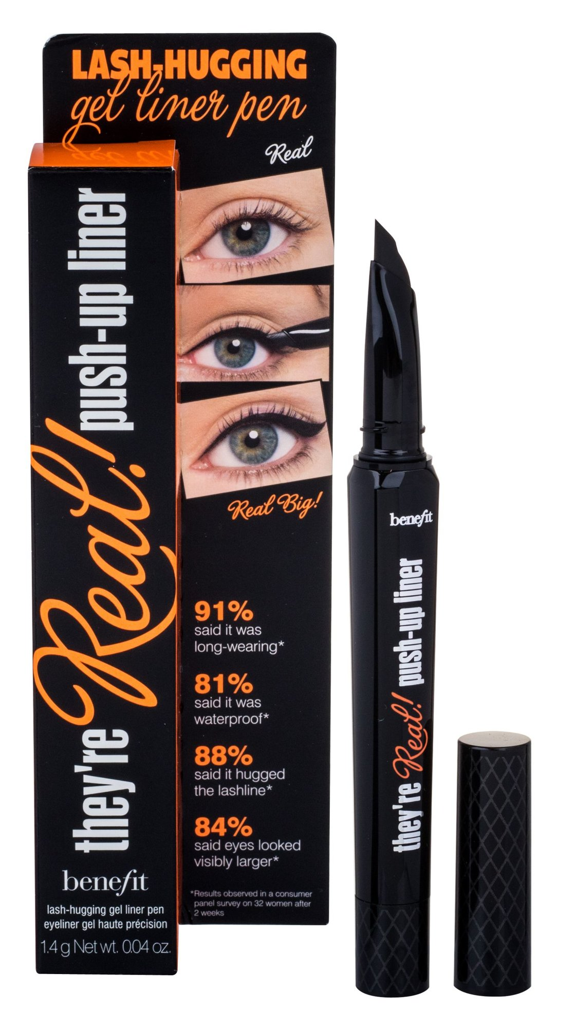 Benefit They´re Real! Cosmetic 1,3ml Black