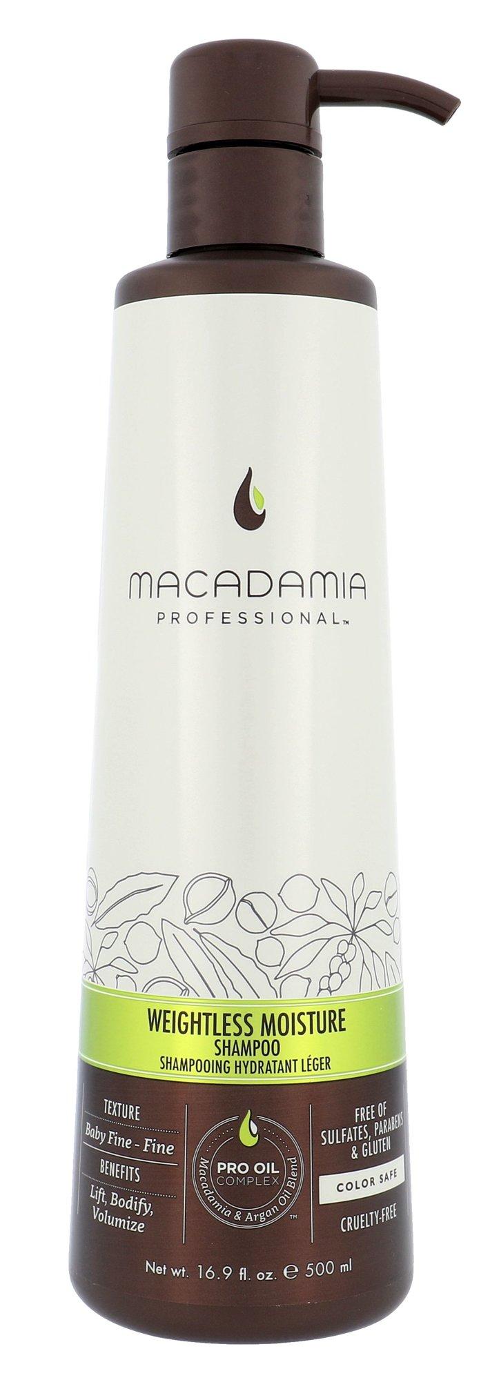 Macadamia Weightless Moisture Shampoo Cosmetic 500ml