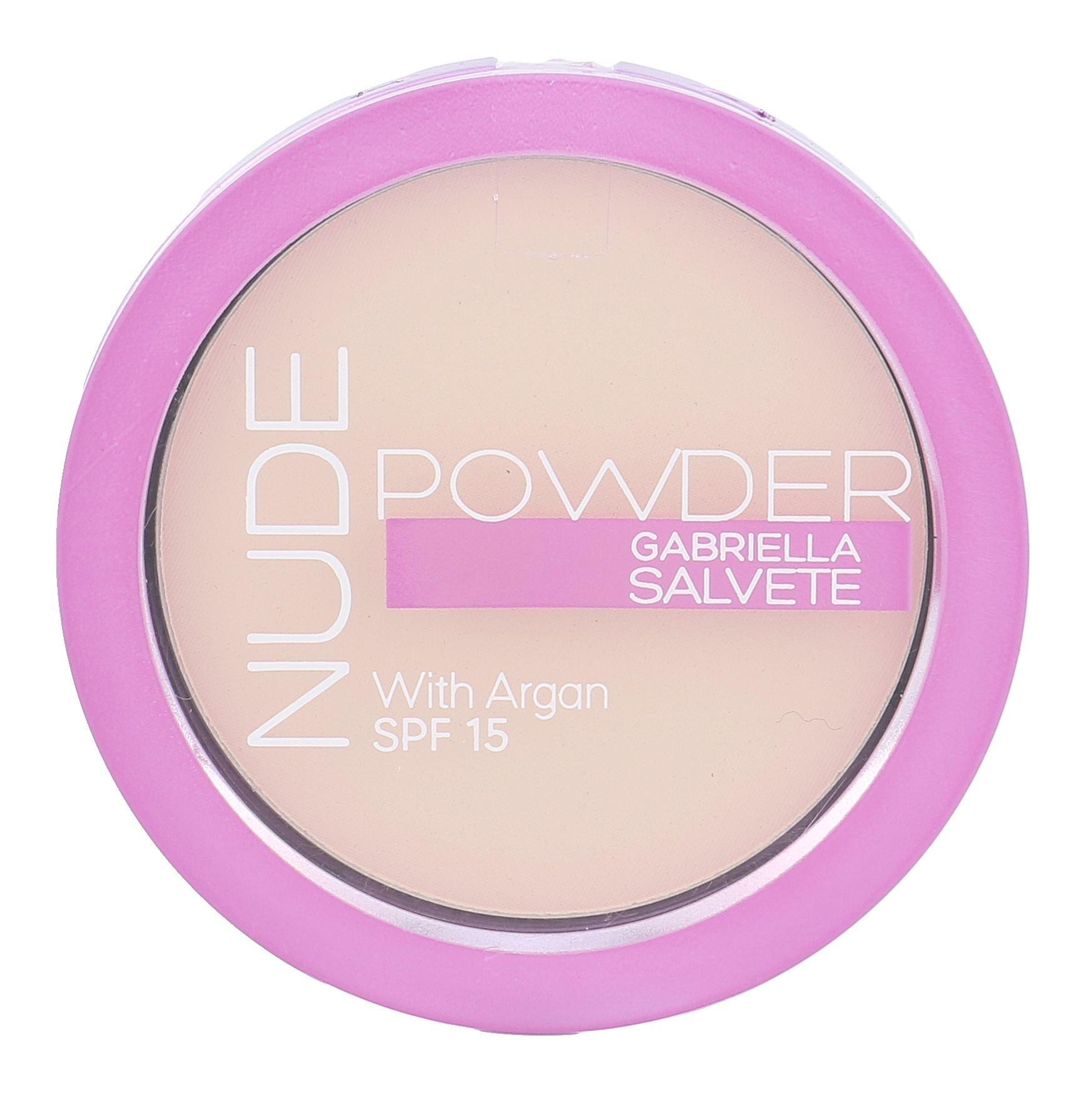 Gabriella Salvete Nude Powder SPF15 Cosmetic 8g 01 Pure Nude