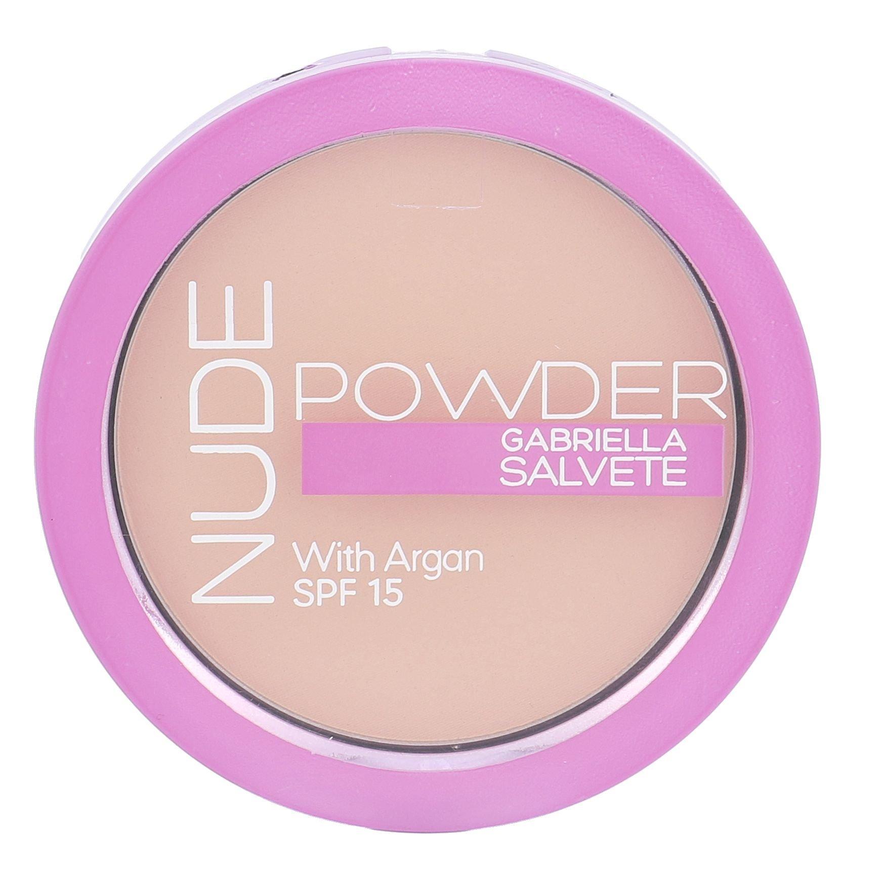 Gabriella Salvete Nude Powder SPF15 Cosmetic 8g 03 Nude Sand