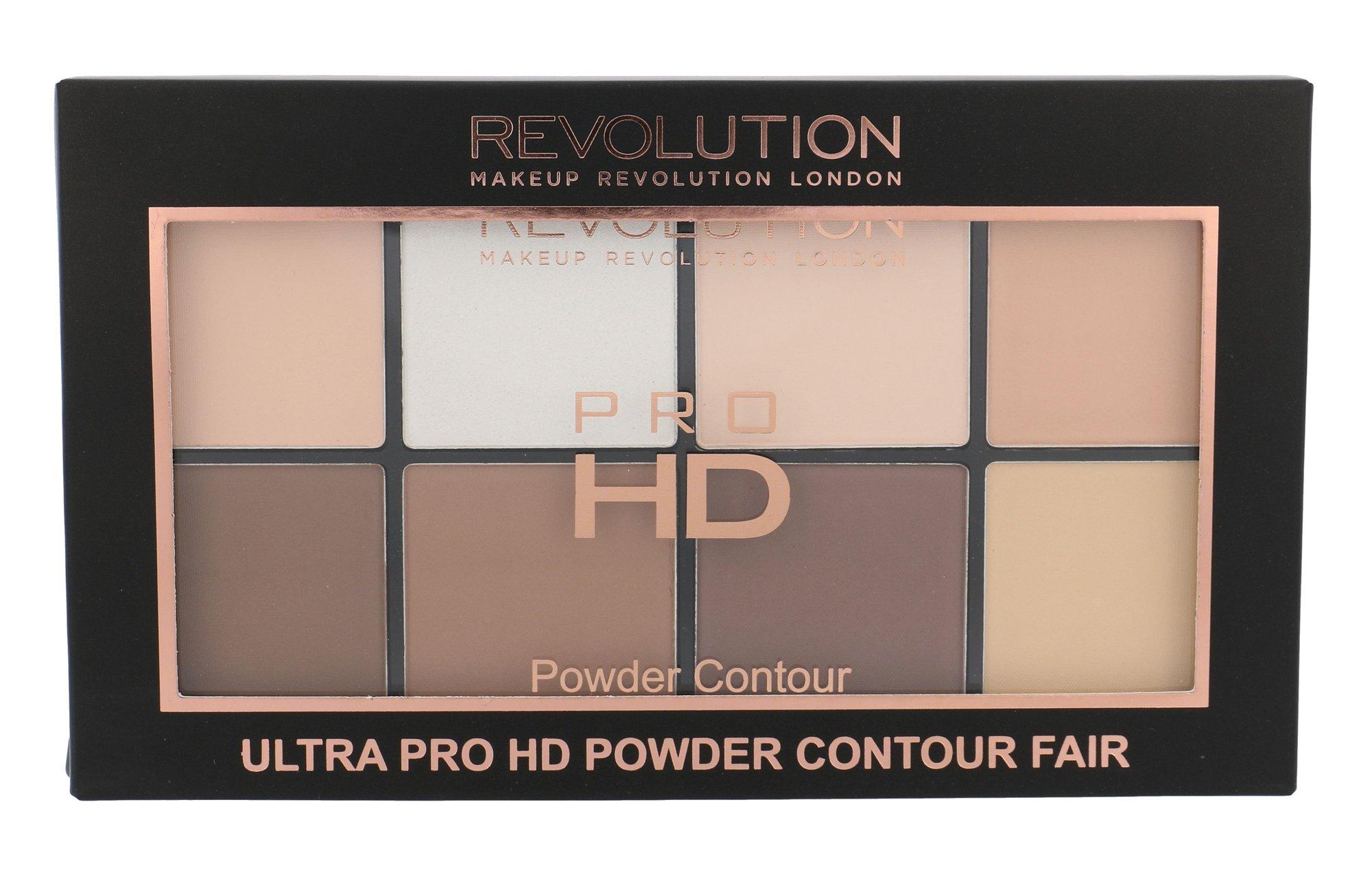 Makeup Revolution London Ultra Pro HD Powder Contour Palette Cosmetic 20g Fair