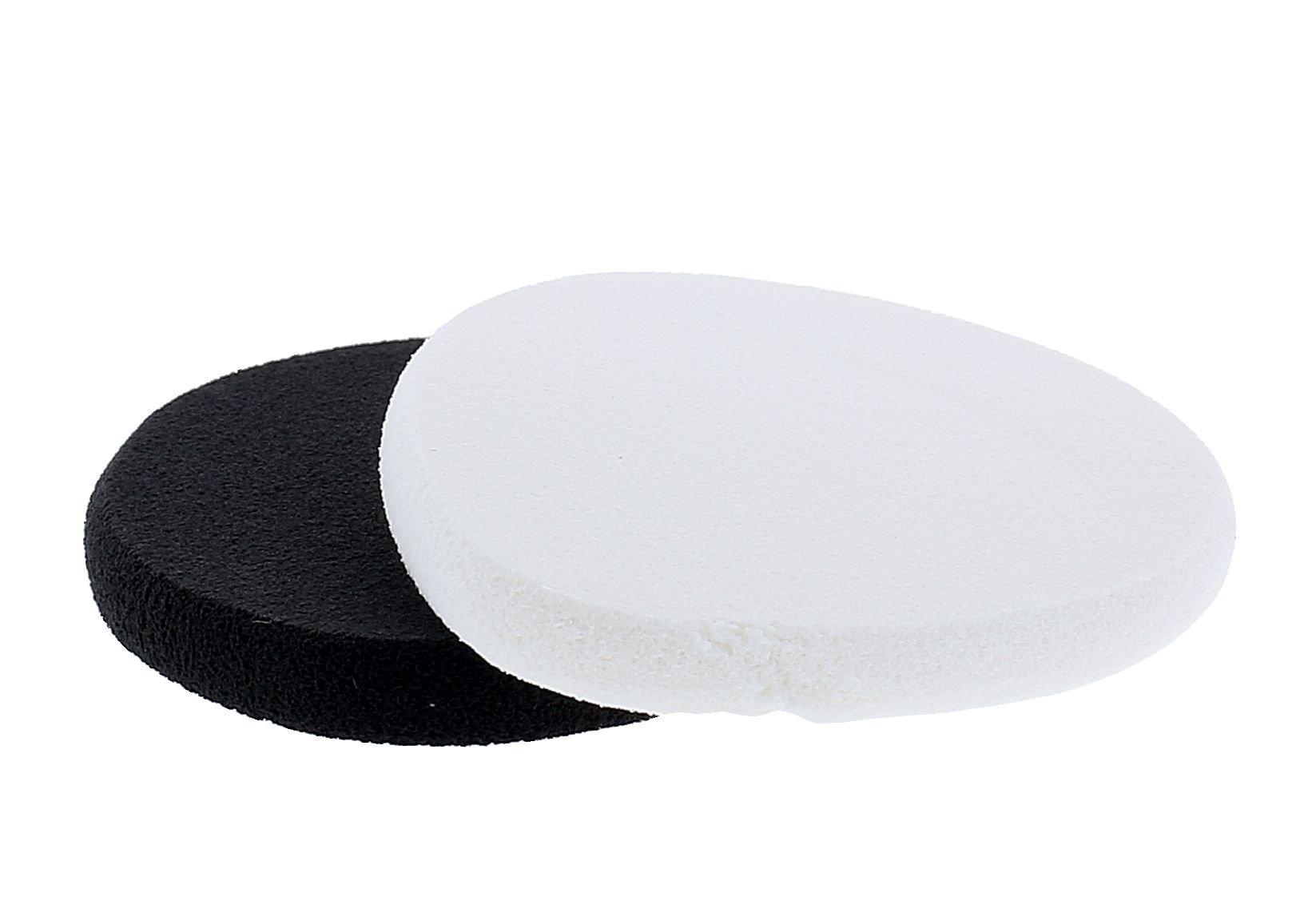 Sefiros Make-Up Sponge Cosmetic 2ks Black & White