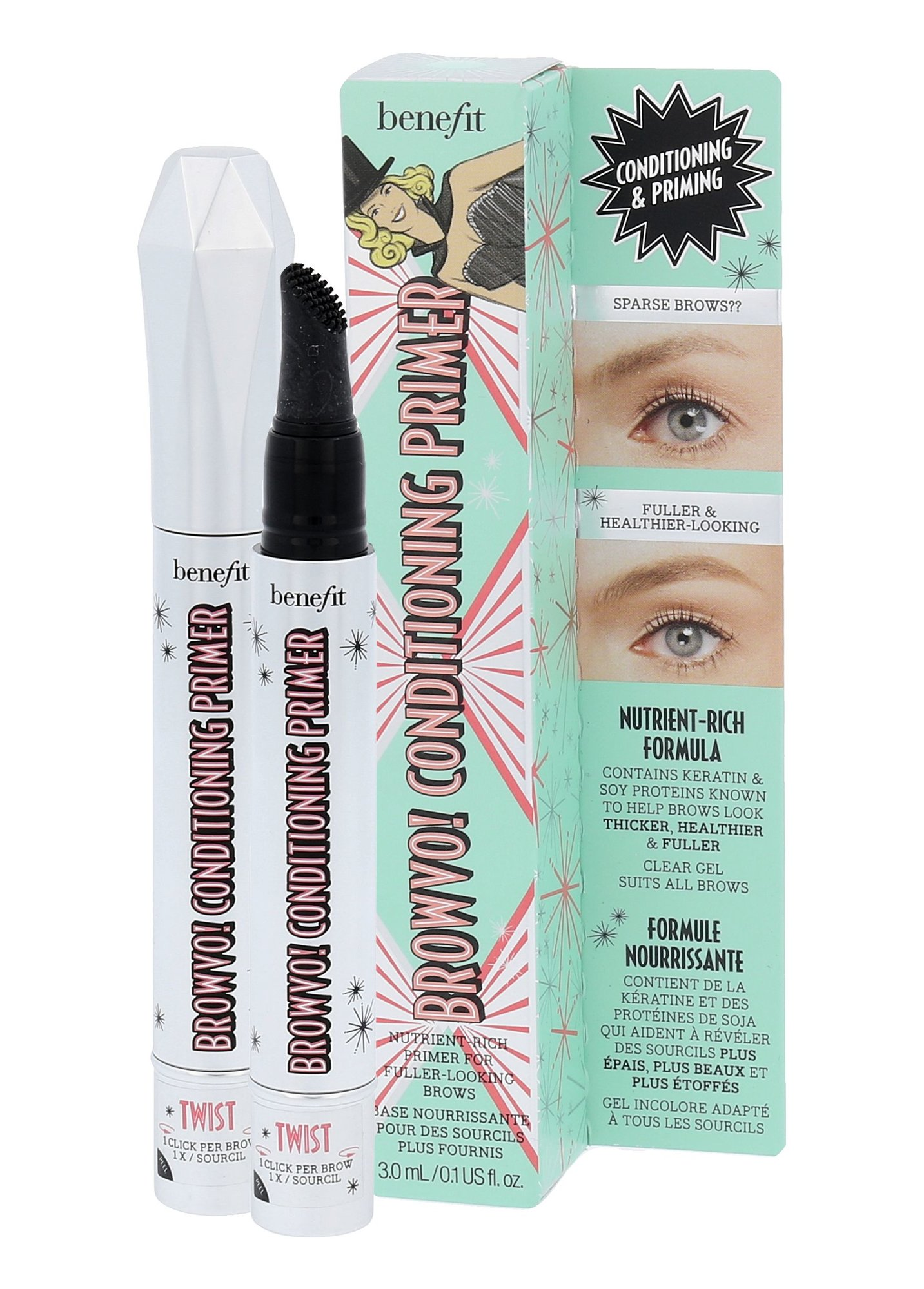 Benefit Browvo! Conditioning Eyebrow Primer Cosmetic 3ml
