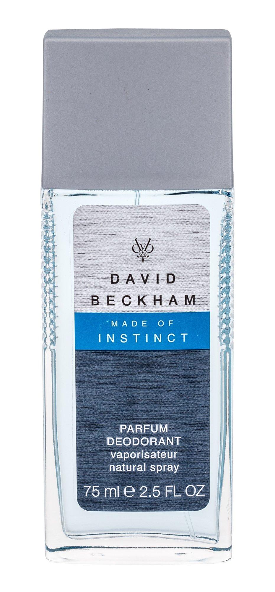 David Beckham Made of Instinct Deodorant 75ml
