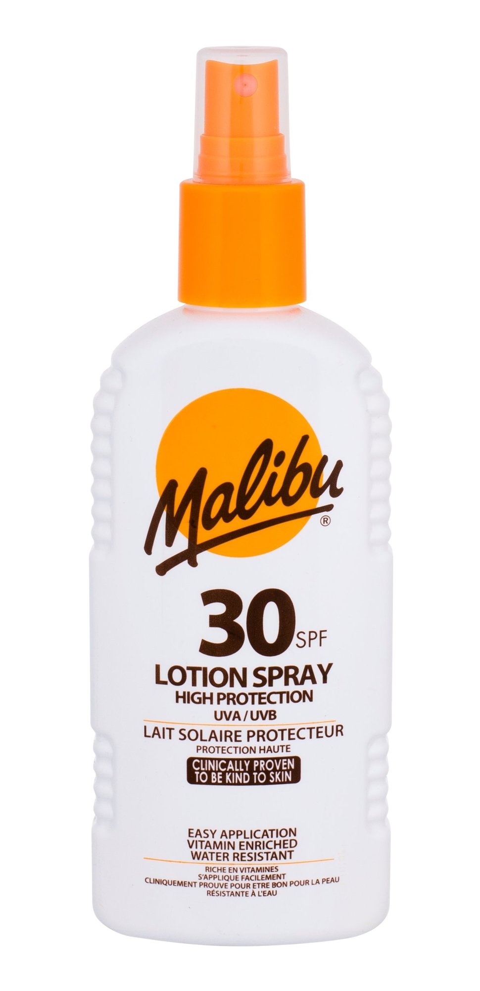 Malibu Lotion Spray Cosmetic 200ml