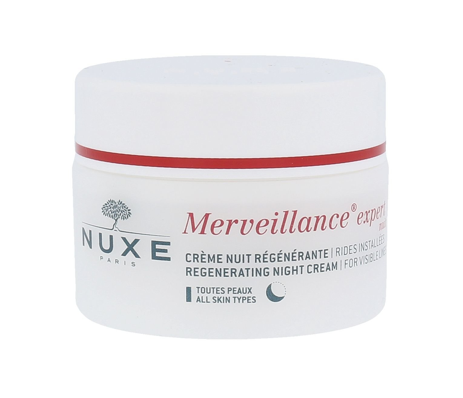 Nuxe Merveillance Visible Lines Night Cream Cosmetic 50ml