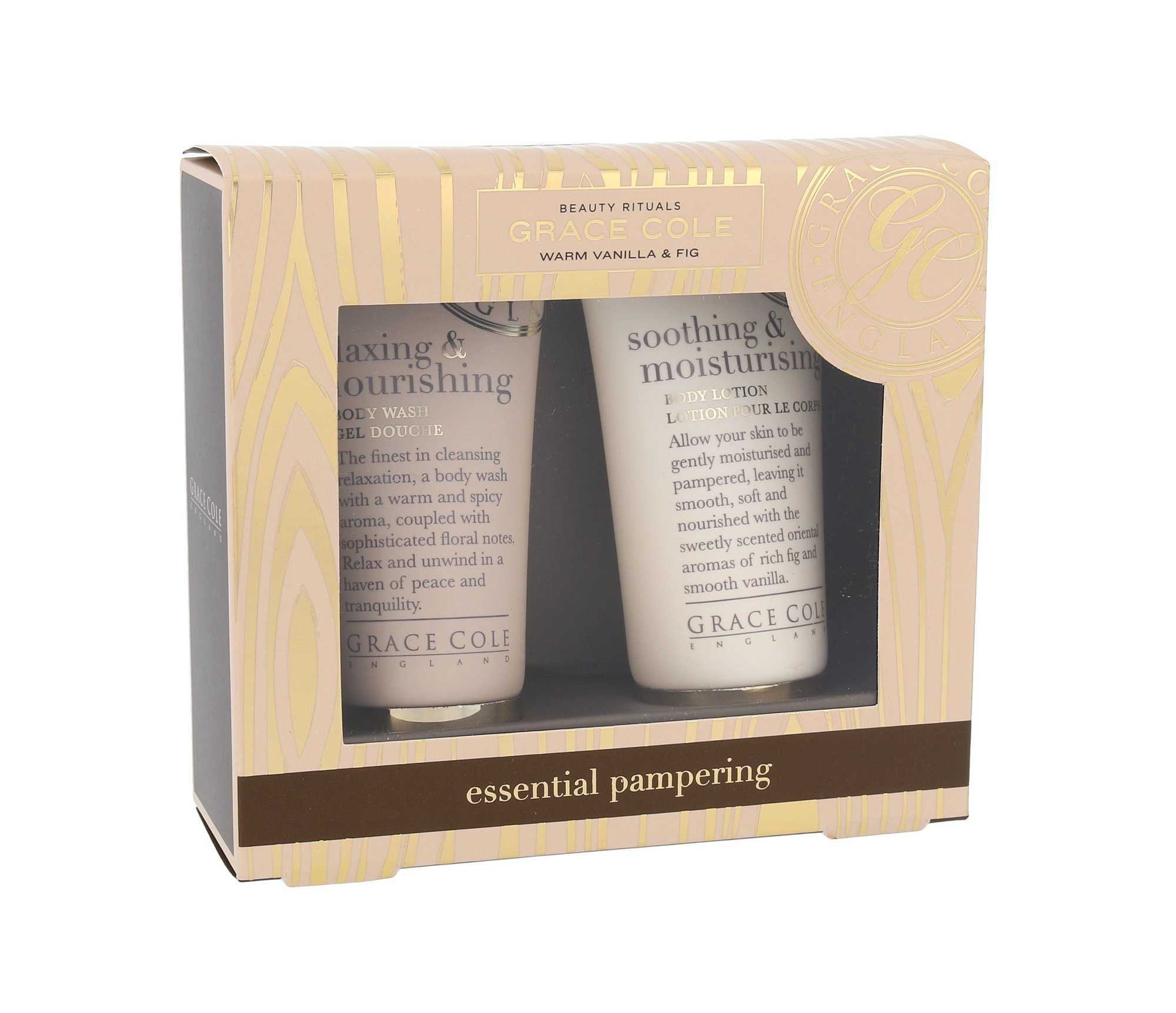 Grace Cole Warm Vanilla & Fig Essential Pampering Kit Cosmetic 50ml