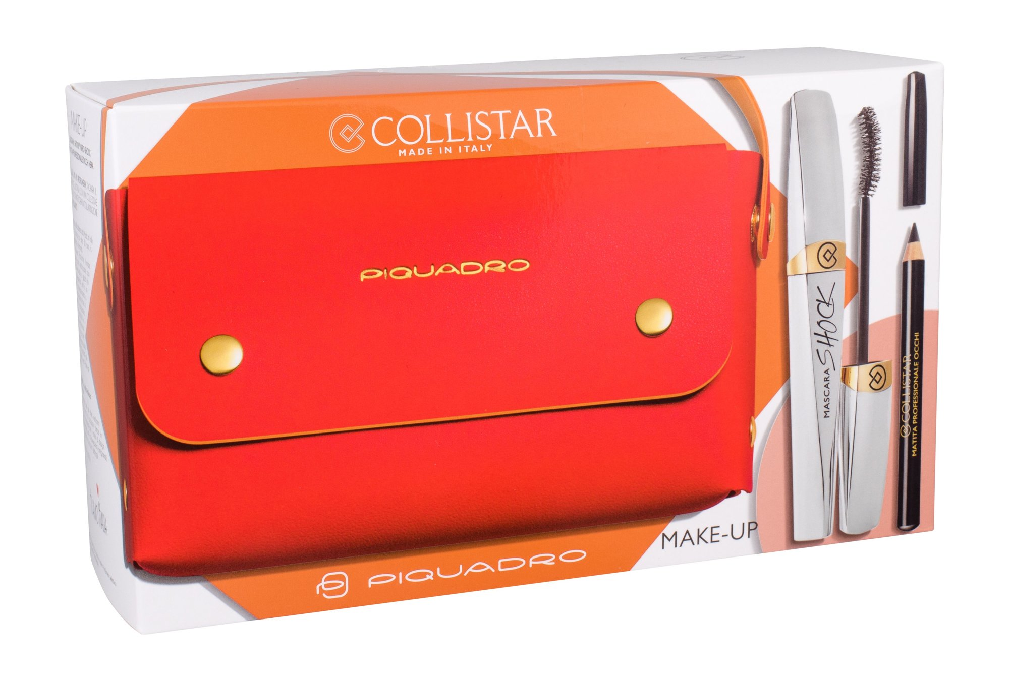 Collistar Mascara Shock Kit Cosmetic 8ml Black Shock