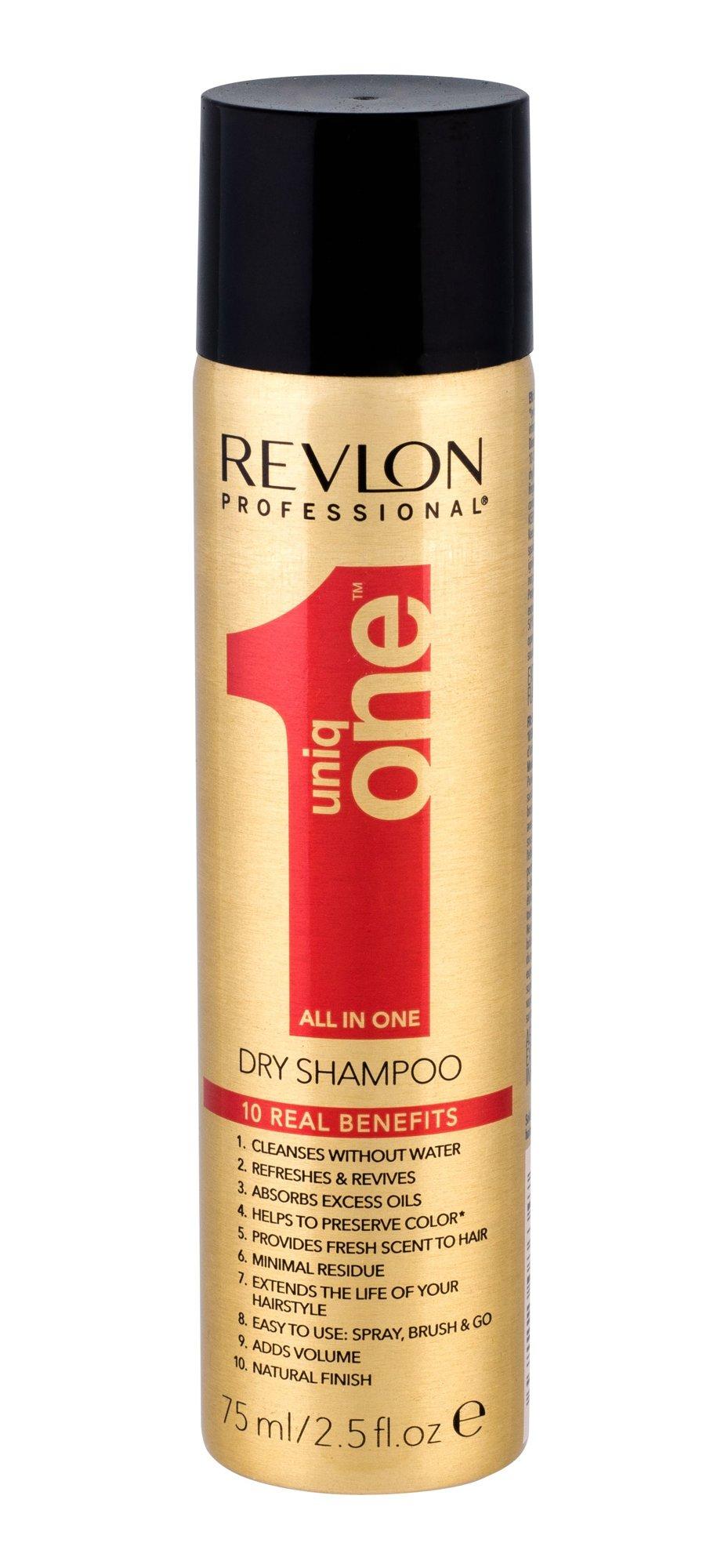Revlon Professional Uniq One Dry Shampoo Cosmetic 75ml
