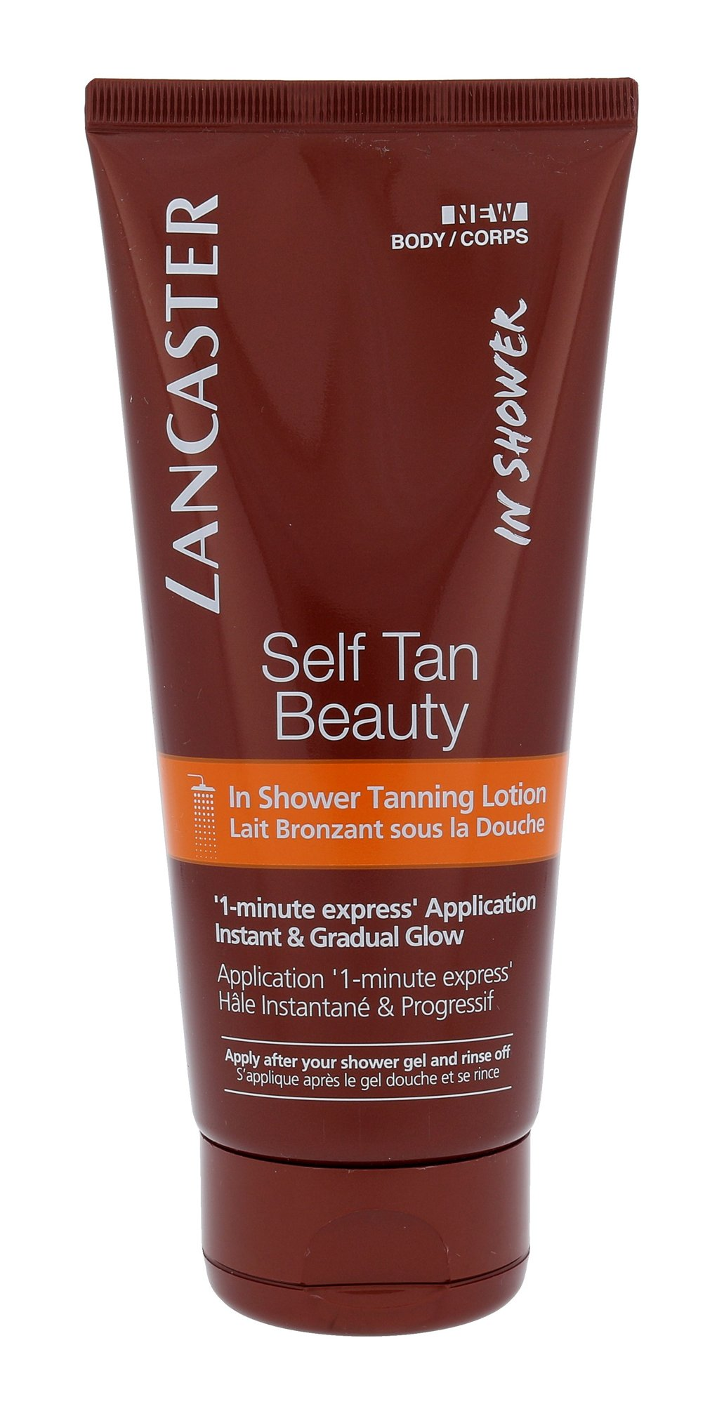Lancaster Self Tan Beauty In Shower Tanning Lotion Cosmetic 200ml