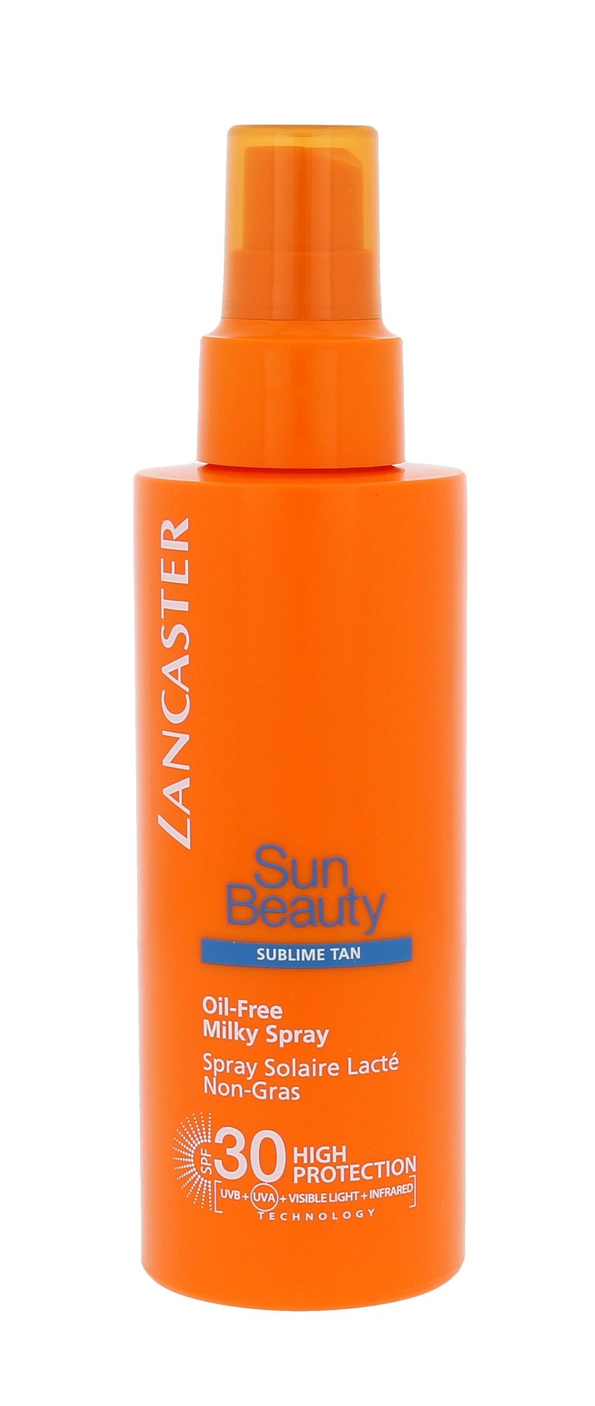 Lancaster Sun Beauty Oil-Free Milky Spray SPF30 Cosmetic 150ml