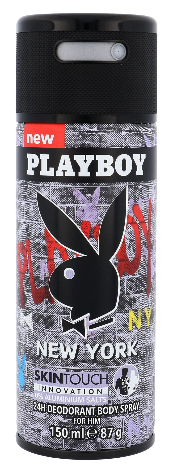Playboy New York For Him Deodorant 150ml