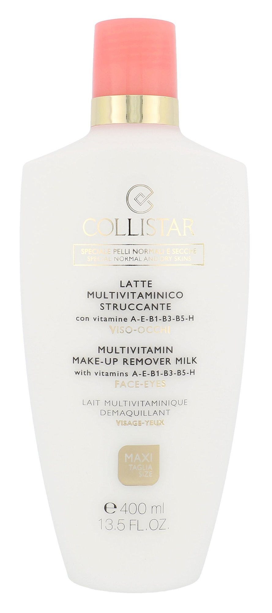 Collistar Multivitamin Make-Up Remover Milk Cosmetic 400ml