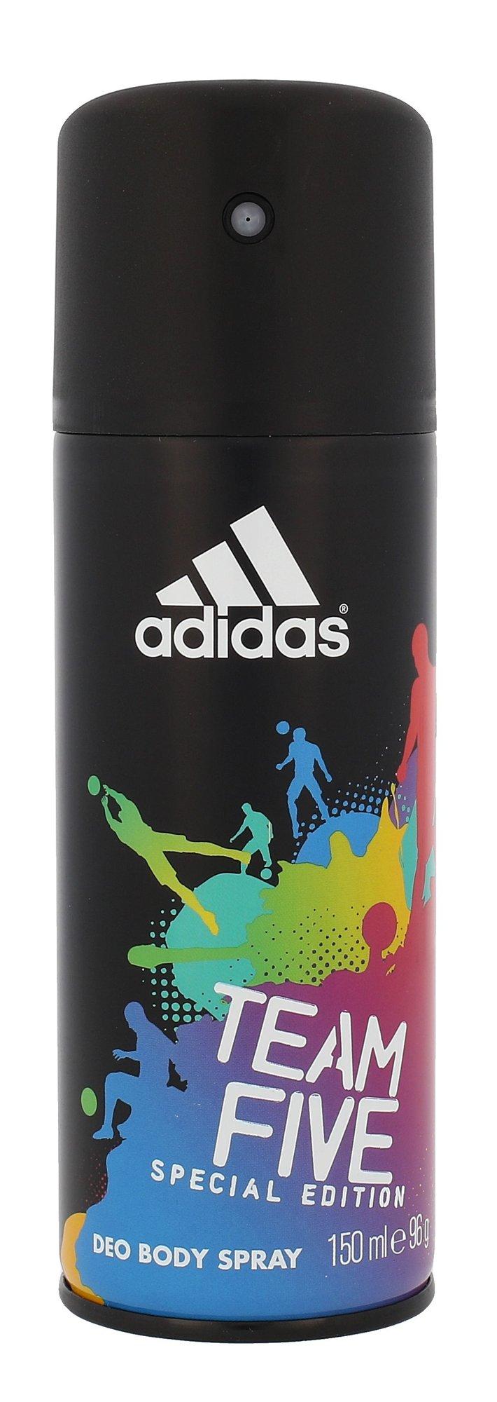 Purškiamas dezodorantas Adidas Team Five
