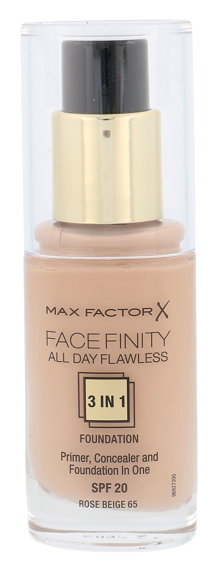 Max Factor Facefinity Cosmetic 30ml 65 Rose Beige