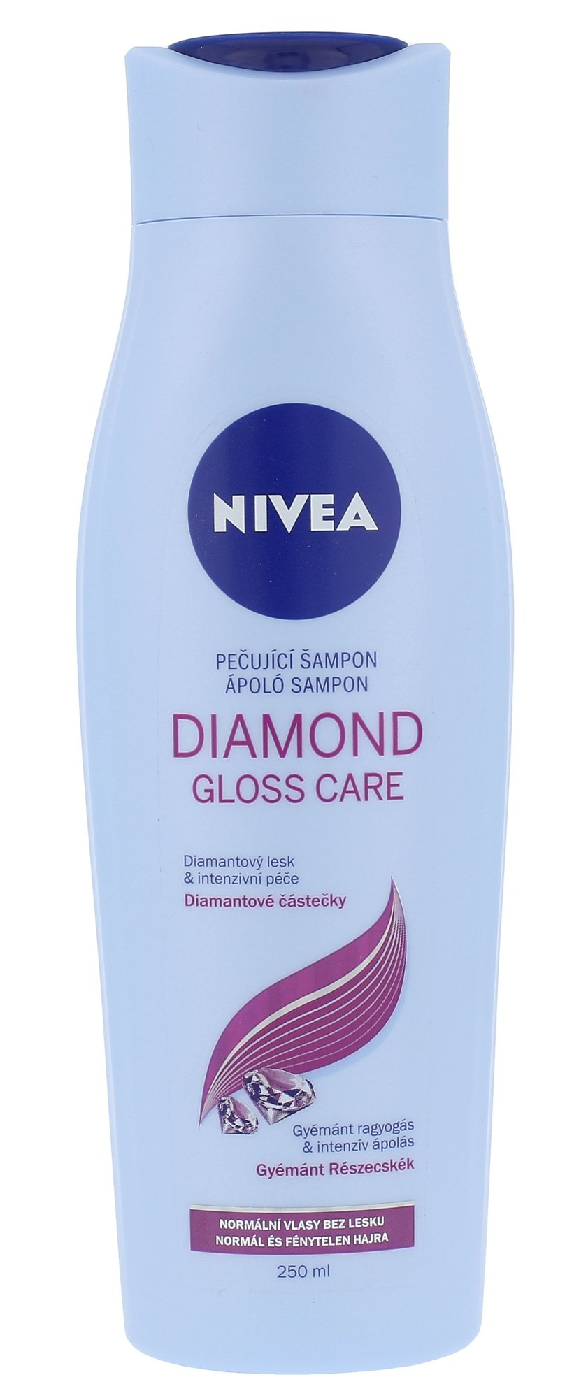 Šampūnas Nivea Diamond Gloss Care